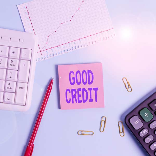 Use credit cards to build a good credit history