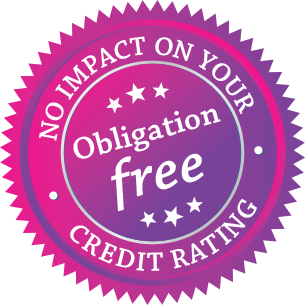 no impact on your credit rating and obligation free enquiry