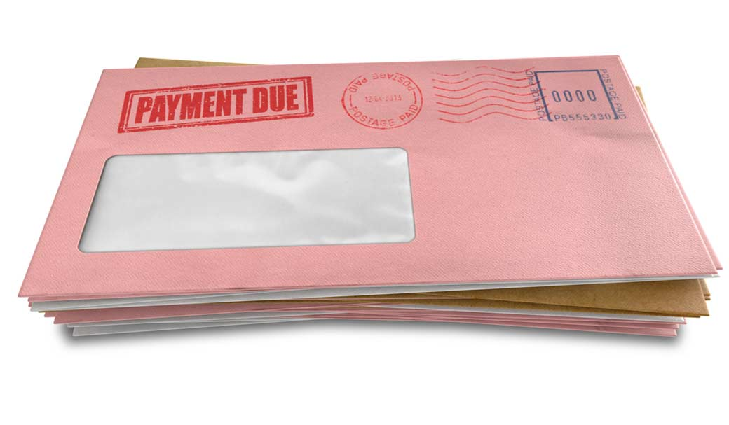 Pay your overdue and critical bills first