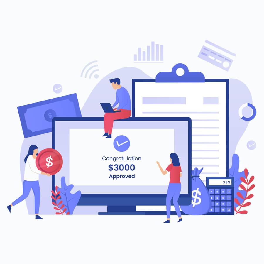 get safe financial support